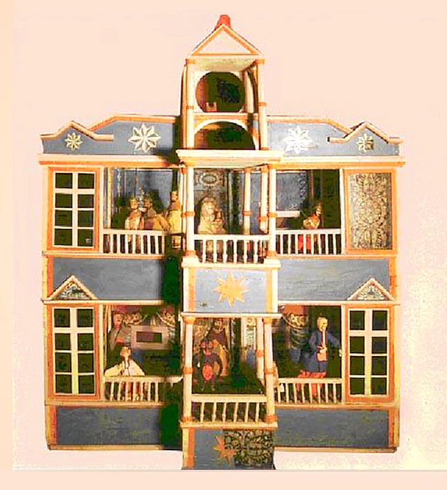 Sokyryn nativity scene chest of the XVIII century