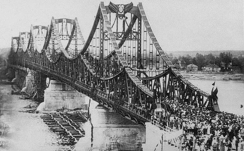 Урочисте відкриття мосту імені Євгенії Бош. 10 травня 1925 року