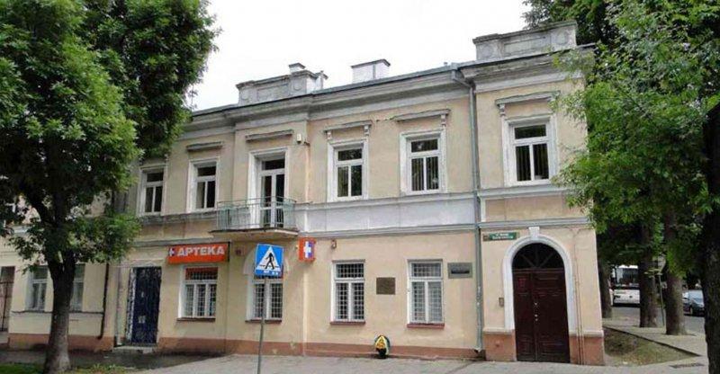 Будинок, у якому народився М.С. Грушевський, м. Хелм
