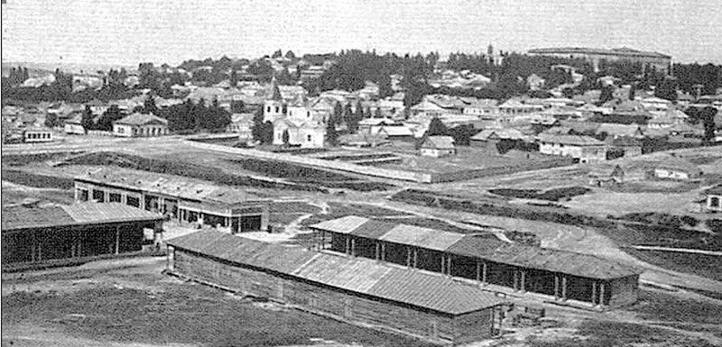 Троїцька площа. Фото другої половини XIX століття