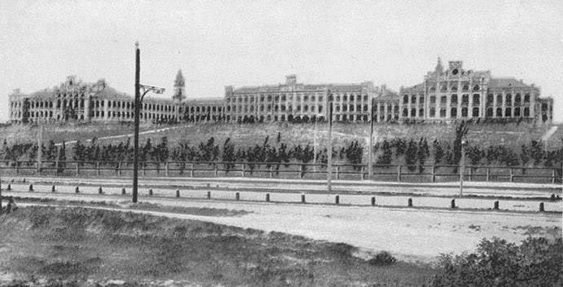 Ботанічний садок КПІ. 1903 р.