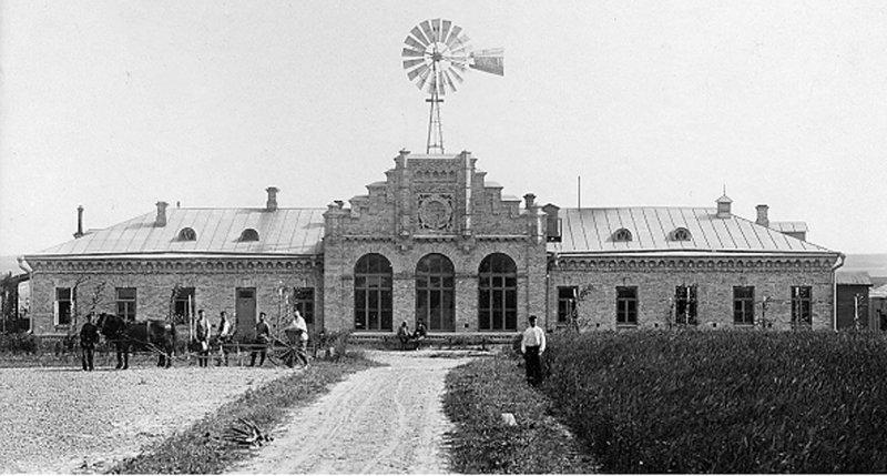 Головний корпус станції, 1902 р.