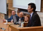 лекція Юджі Сасакі  для студентів