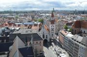 Вид на місто з башні над Ратушею
