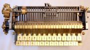 Шифрувальна машина, виготовлена за описом Лейбніца в 2014 р.