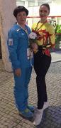 Т. Пасічна та К. Сачик у Португалії на чемпіонаті Європи