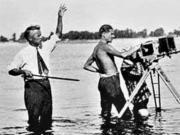Під час зйомок фільму Земля, с. Яреськи, 1929 р.