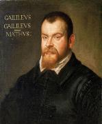 Портрет Г. Галілея роботи Д.Тінторетто (1605-1607)