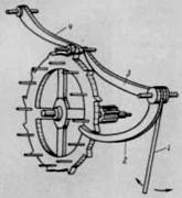 Спусковий механізм годинника Г. Галілея