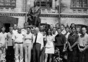 Відкриття пам'ятника Є.О.Патону в  НТУУ КПІ (2002 р.)